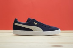 Pánské tenisky Puma Suede Classic + peacoat-white | 356568-51 | Modrá | 41