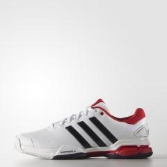 Pánské tenisové boty adidas barricade club 44,5 FTWWHT/CONAVY/VIVRED