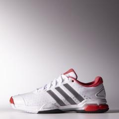 Pánské tenisové boty adidas barricade team 4 | M21706 | Bílá | 41