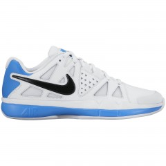 Pánské tenisové boty Nike AIR VAPOR ADVANTAGE CLAY 41 WHITE/BLACK-LT PHOTO BLUE