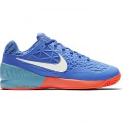 Pánské tenisové boty Nike ZOOM CAGE 2 EU 42 MEDIUM BLUE/WHITE-POLARIZED BL