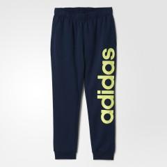 Pánské tepláky adidas LIN PANT CH BR | AC3613 | Modrá | M