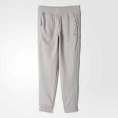 Pánské tepláky adidas Originals FITTED CUFFED S | AJ7689 | Šedá | L