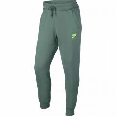 Pánské tepláky Nike M NSW JOGGER FLC AIR HRTG | 809060-386 | Zelená | S