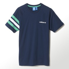 Pánské tričko adidas Originals FITTED TEE | S18437 | Modrá | M