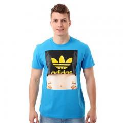 Pánské tričko adidas Originals G SUM GIRL TEE | F96156 | Modrá | XS