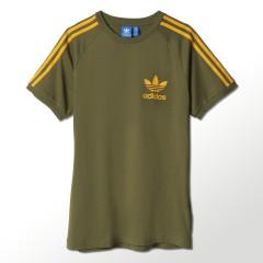 Pánské tričko adidas Originals SPORT ESS TEE | S18425 | Béžová | L