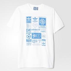 Pánské tričko adidas Originals VINTAGE TRFL T | AZ1040 | S