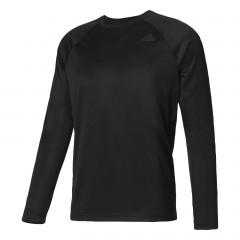 Pánské trička adidas Performance D2M LONGSLEEVE   BK0975   Černá   L