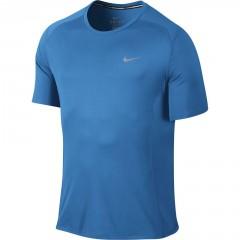 Pánské tričko Nike DF MILER SS   683527-435   Modrá   S