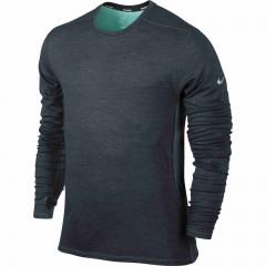 Pánské tričko Nike DRI-FIT WOOL CREW | 553678-084 | Šedá | XXL