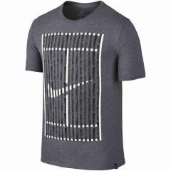 Pánské tričko Nike M NK COURT TEE 2 | 833254-091 | Šedá | M