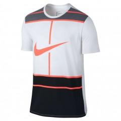 Pánské tričko Nike M NK DRY TEE DBL 1 | 831470-101 | Bílá | XL