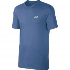 Pánské tričko Nike M NSW TEE CLUB EMBRD FTRA | 827021-443 | Modrá | L