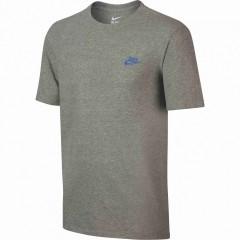 Pánské tričko Nike M NSW TEE CLUB EMBRD FTRA | 827021-066 | Šedá | 2XL
