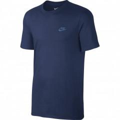 Pánské tričko Nike M NSW TEE CLUB EMBRD FTRA | 827021-424 | Modrá | S