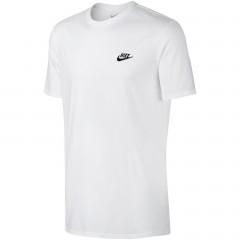 Pánské tričko Nike M NSW TEE CLUB EMBRD FTRA | 827021-100 | Bílá | L