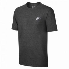 Pánské tričko Nike M NSW TEE CLUB EMBRD FTRA   827021-071   Šedá   XL