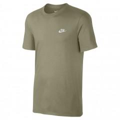 Pánské tričko Nike M NSW TEE CLUB EMBRD FTRA   827021-230   Zelená   XL