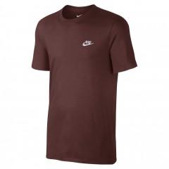 Pánské Tričko Nike M NSW TEE CLUB EMBRD FTRA   827021-619   Červená   XL