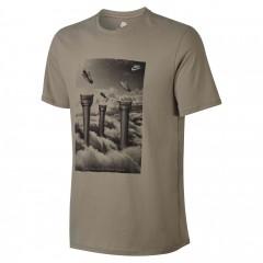 Pánské tričko Nike M NSW TEE S+ 5   867216-235   Hnědá   XL