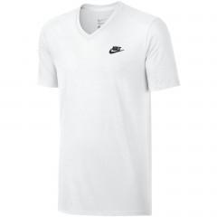 Pánské tričko Nike M NSW TEE VNK CLUB EMBRD FTRA   827023-100   Bílá   XL