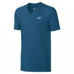 Pánské tričko Nike M NSW TEE VNK CLUB EMBRD FTRA   827023-452   Modrá   XL