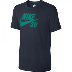 Pánské tričko Nike SB LOGO TEE | 821946-451 | Modrá | XL