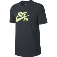 Pánské tričko Nike SB LOGO TEE | 821946-364 | Zelená | XL