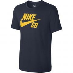 Pánské tričko Nike SB LOGO TEE | 821946-454 | Černá | XL