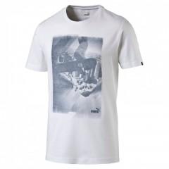 Pánské tričko Puma Archive Photo white L