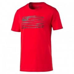 Pánské tričko Puma Country Graphic red | 836438-05 | Červená | S