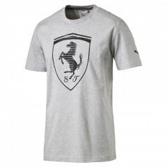 Pánské tričko Puma Ferrari Ferrari Big Shield Tee light g | 570681-04 | Šedá | L