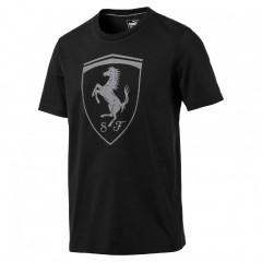 Pánské tričko Puma Ferrari Ferrari Big Shield Tee Moonles | 573467-01 | Černá | XL
