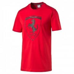 Pánské tričko Puma Ferrari Ferrari Big Shield Tee rosso c   570681-02   M