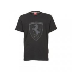 Pánské tričko Puma Ferrari Ferrari Shield Tee black S