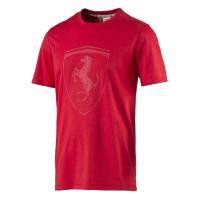 Pánské tričko Puma Ferrari Ferrari Shield Tee rosso corsa S