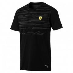 Pánské tričko Puma Ferrari SF Tee Puma Black | 762250-02 | Černá | M