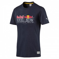 Pánské tričko Puma RBR Logo Tee total eclipse | 570957-01 | XL
