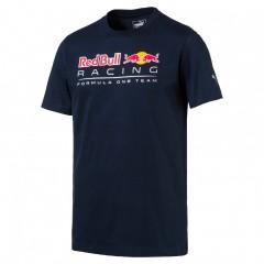 Pánské tričko Puma RBR Logo Tee Total Eclipse | 572747-01 | Modrá | XL