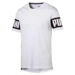 Pánské tričko Puma Rebel Tee White | 592453-02 | Bílá | L