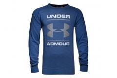 Pánské tričko Under Armour UA Triblend Chest Graphic Crew