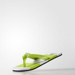 Pánské žabky adidas Performance eezay striped 42 SESOSL/CBLACK/FTWWHT