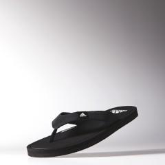 Pánské žabky adidas Performance litha lea SC M 40,5 WHITE/CBLACK/CBLACK