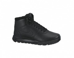 Pánské zimní boty Nike HOODLAND LEATHER 43 BLACK/BLACK-ANTHRACITE