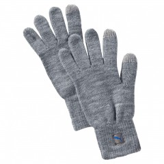 PUMA Big Cat Knit Gloves Light | 041269-02 | Šedá | M