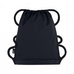 Pánská taška Nike ALPHA GYMSACK MISC BLACK/BLACK/WHITE