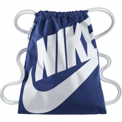 Pytlík Nike HERITAGE GYMSACK MISC DEEP ROYAL BLUE/WHITE/(WHITE)