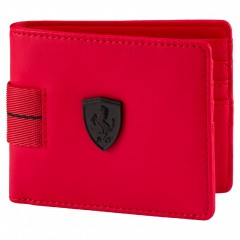 Unisex Peněženka Puma Ferrari Ferrari LS Wallet M Rosso Cors   074521-02   Červená   NS