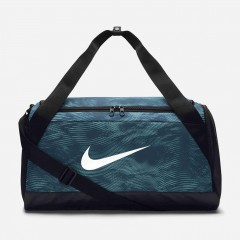 Unisex taška Nike NK BRSLA S DUFF - AOP | BA5433-494 | Modrá | MISC